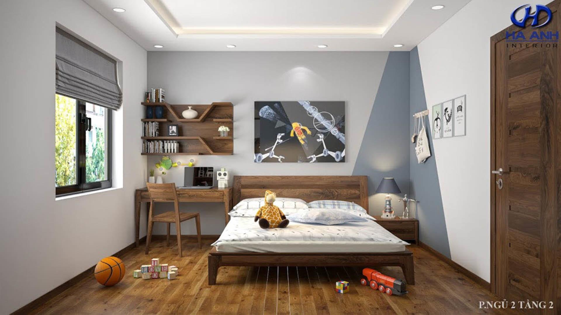 mẫu thiết kế phòng ngủ trẻ em đẹp