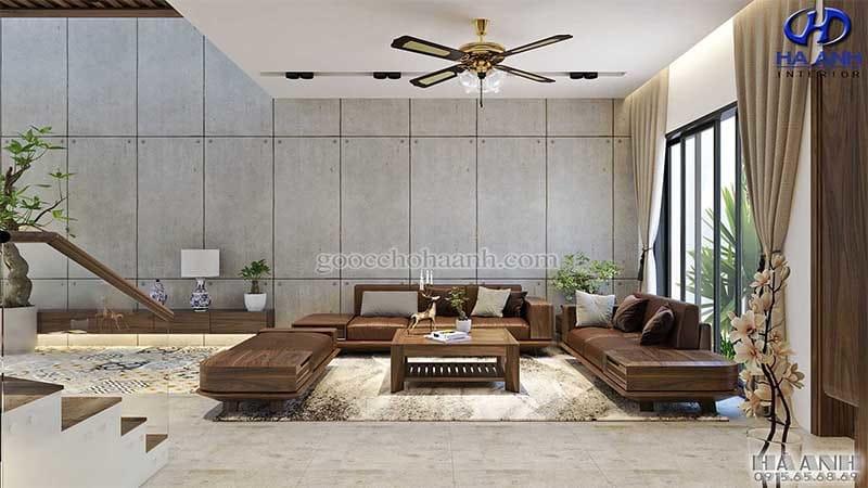 Sofa óc chó HK 6011 hấp dẫn