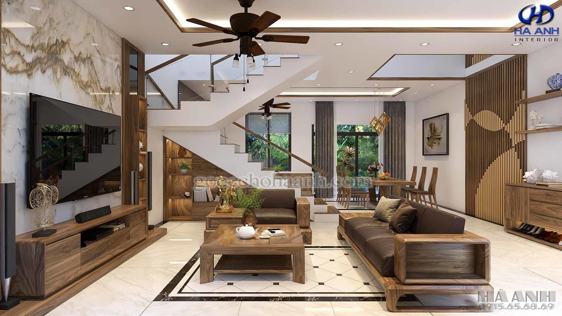 tiện ích của gỗ óc chó trong nội thất