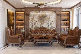 Màu sắc sofa trong thiết kế nội thất
