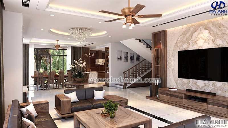 Sử dụng nội thất làm từ gỗ óc chó gia chủ đón được nhiều điều tốt đẹp