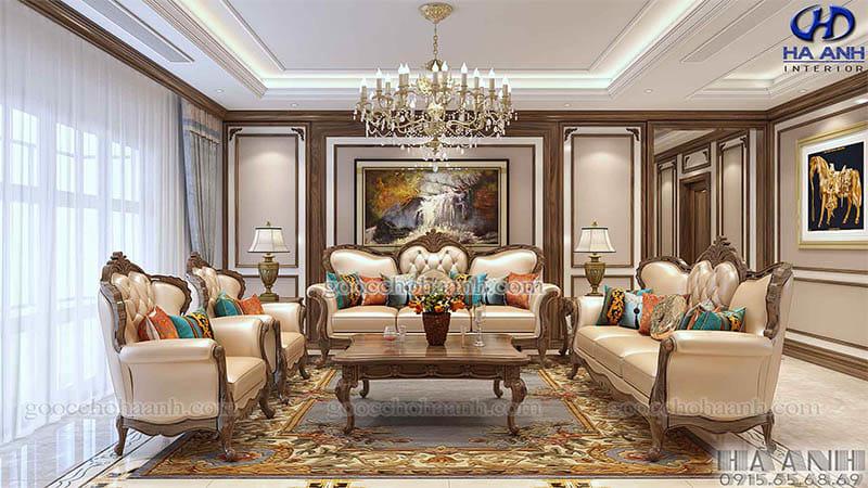 Tìm hiểu về phong cách tân cổ điển nội thất