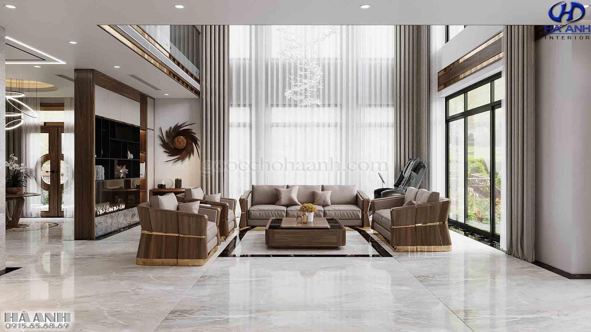 Mẫu Sofa Phòng Khách Đẹp Hiện Đại